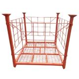 Hot Sale Commercial 5 Tiers Chrome Wire Shelving Metal Wheel Rack Factory