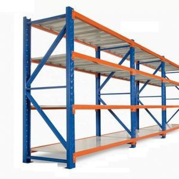 Heavy Duty Industrial Warehouse Transport Stackable Storage Steel Nestainer Pallet Rack #2 image