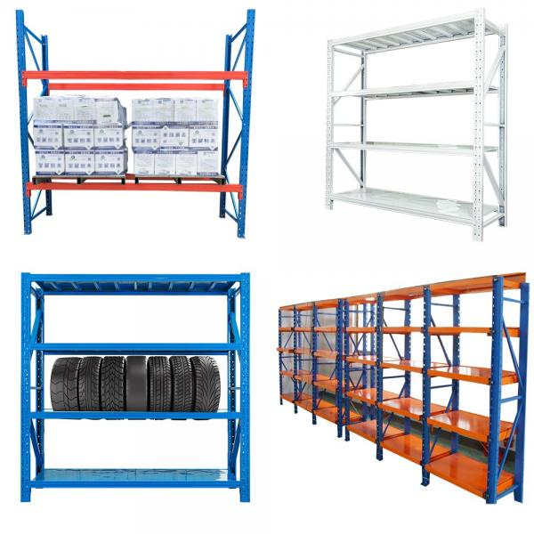 Long Span Steel Storage Systems Warehouse Shelving with Steel Deck #2 image
