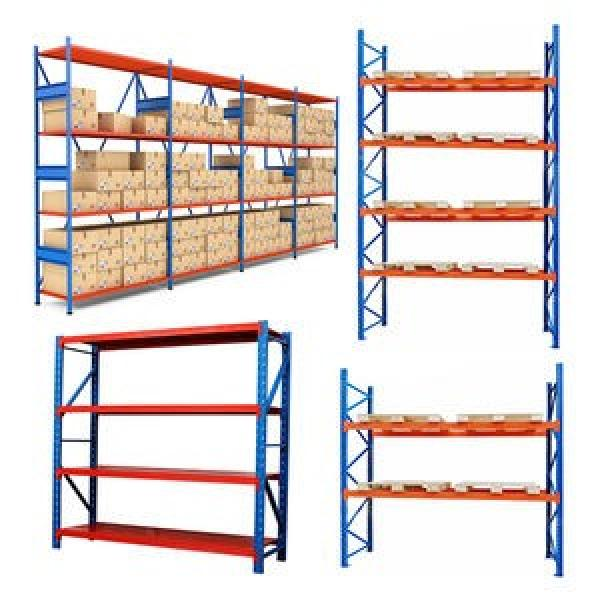 Wooden and Steel Heavy Duty Shelving for Supermarket and Shops #2 image