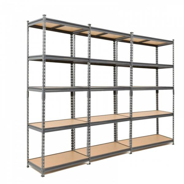 Classics Commercial Grade 5 Tier Steel Wire Shelving Chrome Rack Unit in Work Place #1 image