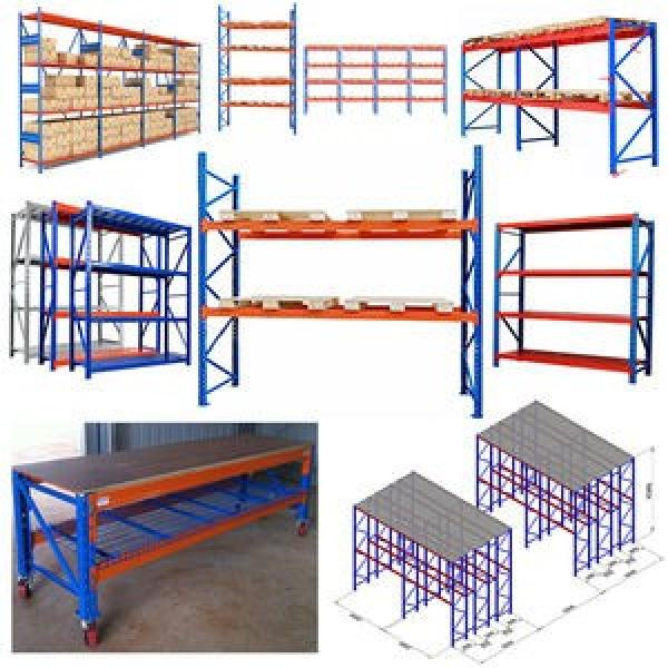Wooden and Steel Heavy Duty Shelving for Supermarket and Shops #3 image