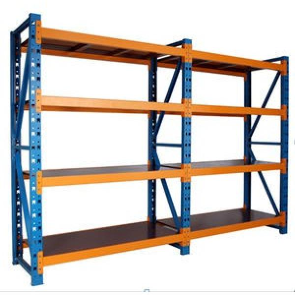 Best-Selling Warehouse Storage Heavy Duty Steel Pallet Racking with Powder Coating #3 image