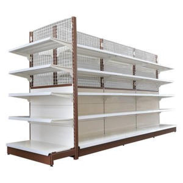 Wooden and Steel Heavy Duty Shelving for Supermarket and Shops #1 image