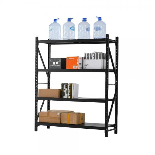 Wholesale Small 3 Tiers Adjustable Light Duty Powder Coating Performated Metal Storage Rack for Home #3 image