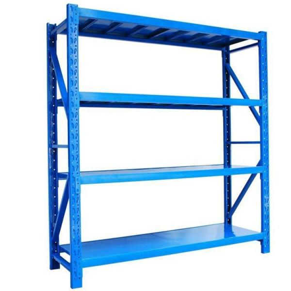Long Span Steel Storage Systems Warehouse Shelving with Steel Deck #3 image