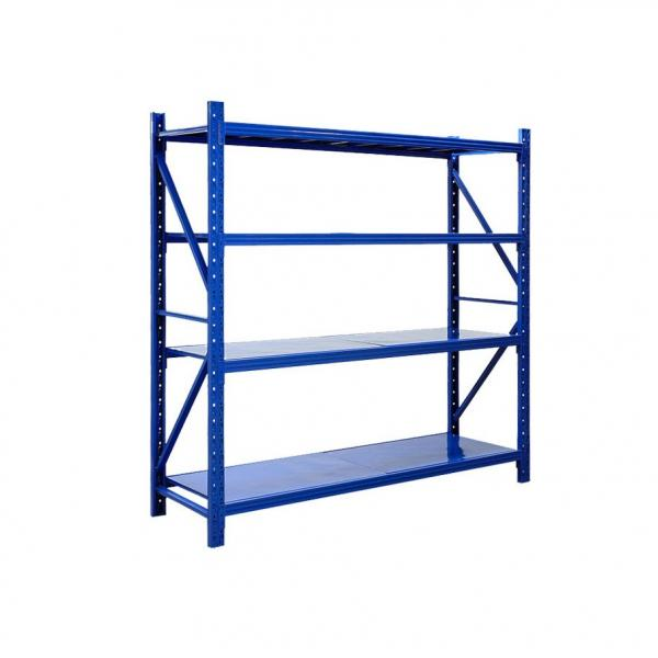 4 Tire Metal Storage Rack Used Commercial Shelving #2 image