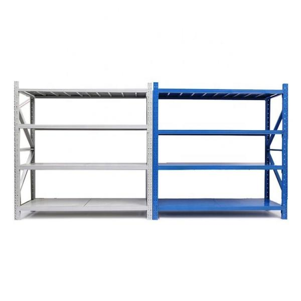 36 in. X 14 in. X 74 in. Wire Chrome Heavy Duty Industrial Shelving Unit for Warehouse Storage #1 image