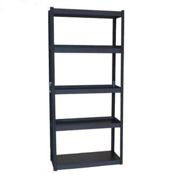 High Density Top Track Storage Mobile Wire Rack Shelving System #1 image