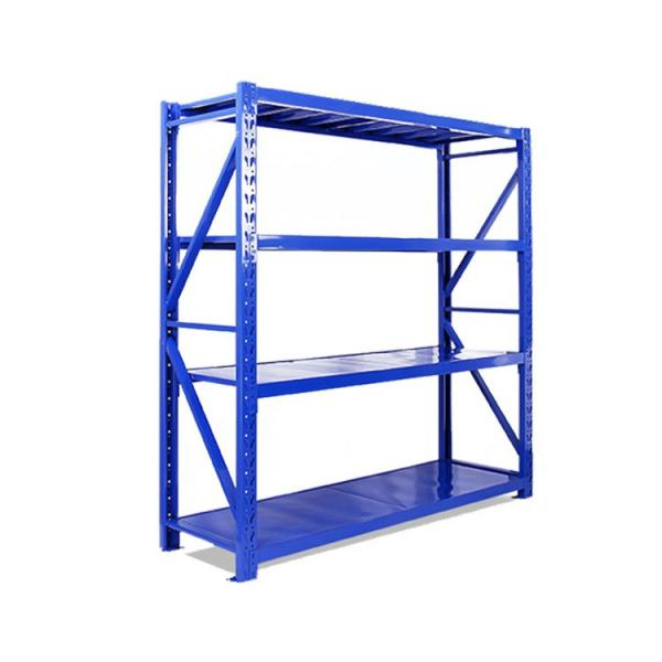 NSF & BSCI Cert. 4 Tiers Restaurant Coldroom #304 Stainless Steel Kitchen Storage Wire Shelving Rack #1 image
