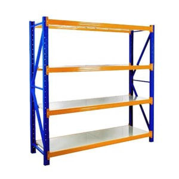 High Density Top Track Storage Mobile Wire Rack Shelving System #2 image